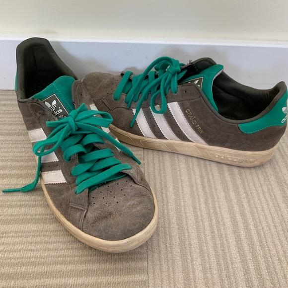 Vintage Adidas Grand Prix sneakers